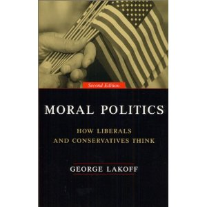 strict father morality Conservatives approach issues from a morality of strictness, believing that, as in a strict-father family, society must have rules with consequences in order for people to develop the necessary self-discipline, self-reliance, and respect for legitimate authority.